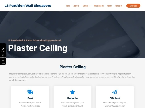 Plaster Ceiling | Plasterboard Ceiling Installation & Repair at Low Cost