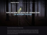 Tips on How to Develop Characters in Mystery Fiction