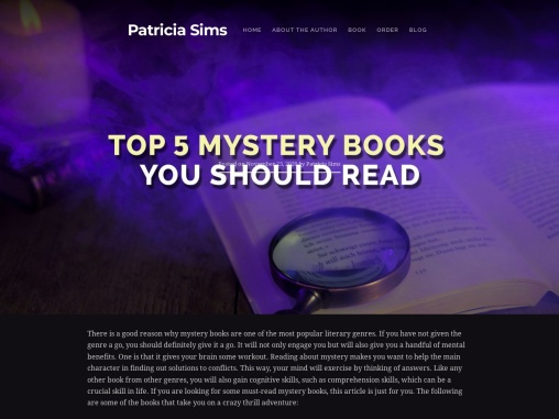 Top 5 Mystery Books You Should Read
