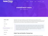 Installment Loans Canada Up to $500-$20K | Payday Buzz™