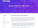 Instant Loans No Credit Check | Guaranteed Approval 24/7Hr