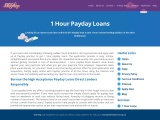 1 Hour Loans- Payday Unemployed Loans Same Day Payout