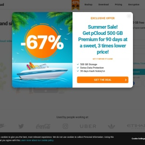 pCloud - The Most Secure Cloud Storage