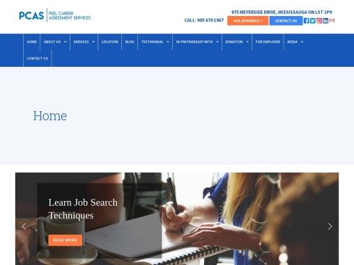 Peel Career Assessment Services Provider GTA Canada