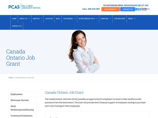 Get To Know Canada Ontario Job Grant | Canadian Job Grant