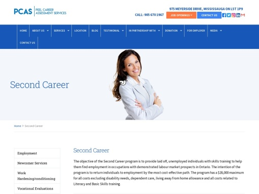 Learn Second Career Program | Job Search Technique