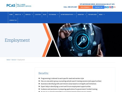 Get Full Suite Employment Services From PeelCareer Canada