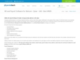 HR Software in Dubai | Payroll Software UAE | HRMS Software UAE