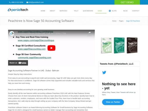 Sage Accounting Software Partner | Sage 50  in UAE – Dubai – Bahrain