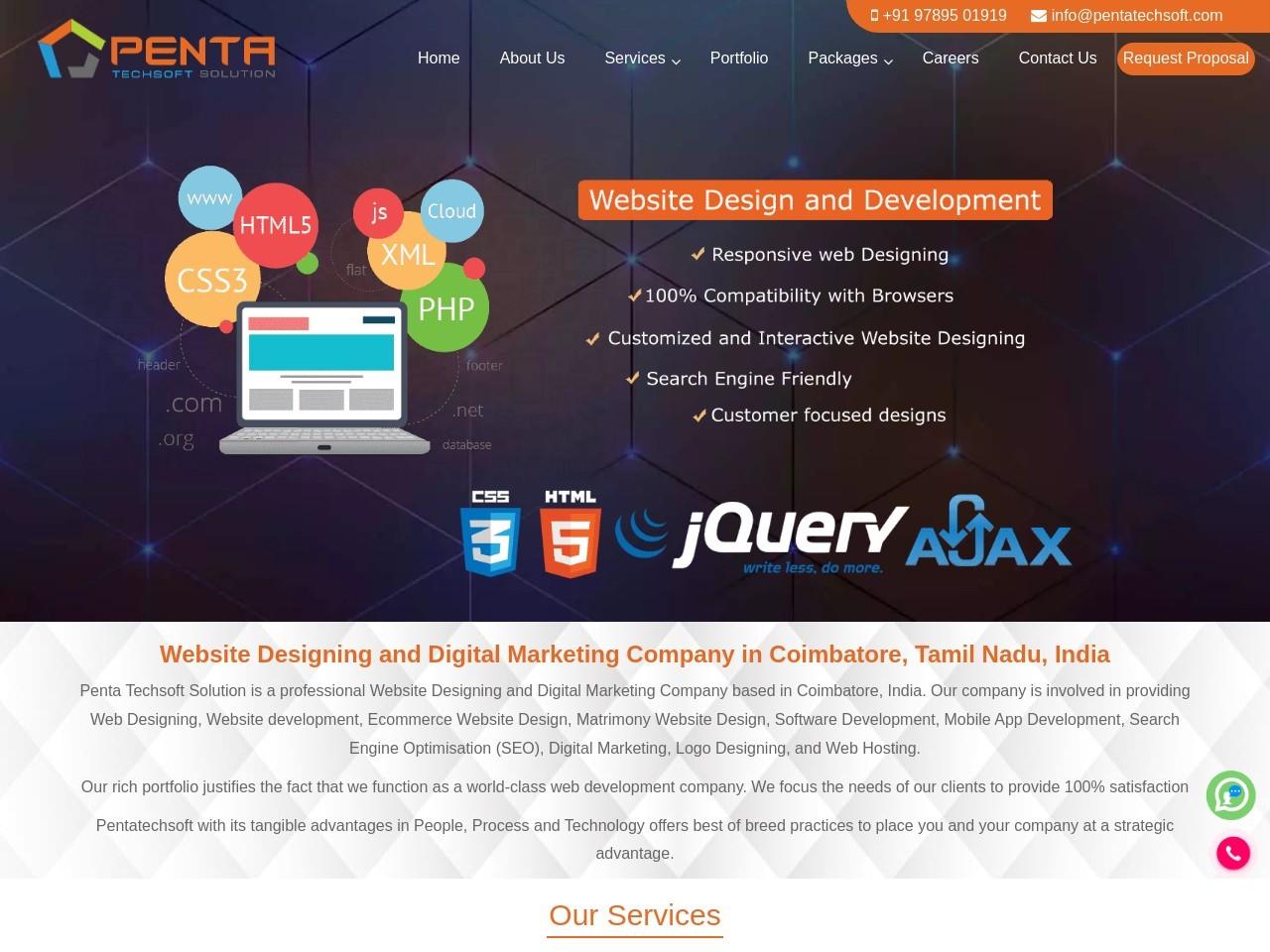 Matrimony Website Design Company In Coimbatore