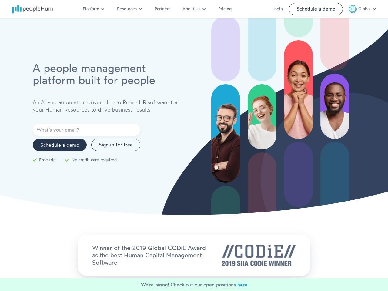 peopleHum an end-to-end HR software platform