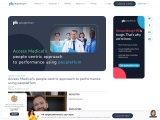 Access Medical's people-centric approach to performance using peopleHum