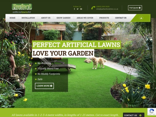 Perfect Artificial Lawns – Artificial Grass Suppliers & Installers in Hertfordshire