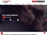 Pest Control Doctor – Borer Control Melbourne, Get same day pest control services in Melbourne