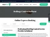 Pestico Pest Control Ballarat provides Bed Bugs Removal service Across Ballarat