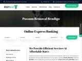 Possum Removal Bendigo | +61480015729 |Pestico Pest Control Bendigo