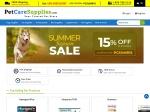 Pet Care Supplies Promo Codes