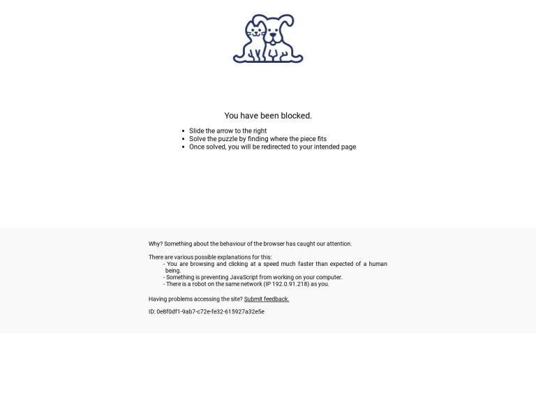 Petco screenshot