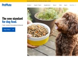 Pet Plate Fresh Dog Food Delivered screenshot