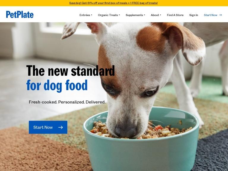Pet Plate Fresh Dog Food Delivered screenshot