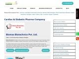 Cardiac Diabetic PCD Pharma Franchise