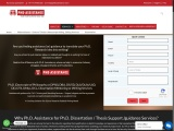 PhD Dissertation Writing Help | Thesis Writing Services & Editing – Phdassistane