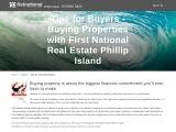 Tips for Buyers Buying Properties