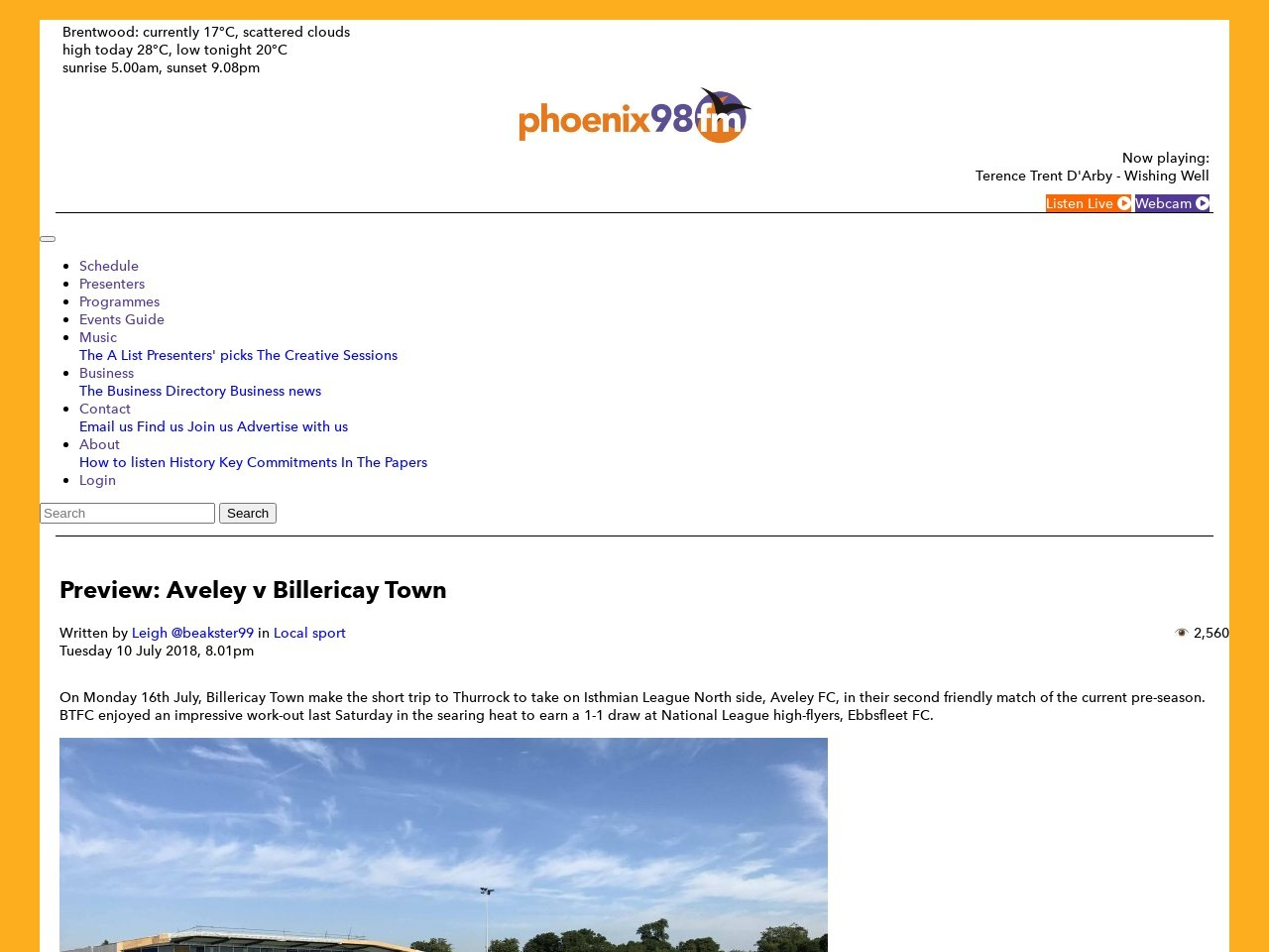 Preview: Aveley v Billericay Town
