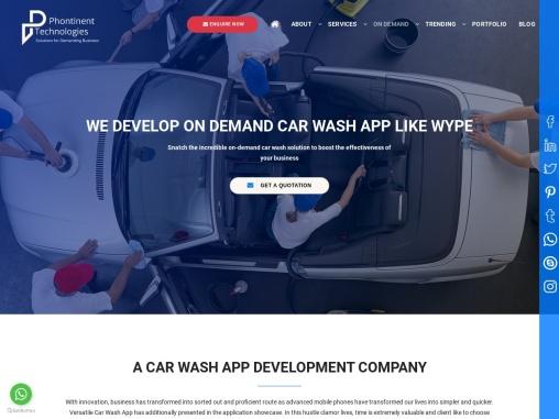 Mobile App Development For Cash Wash   Phontinent Technologies