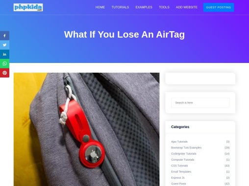 What If You Lose An AirTag how to uncover