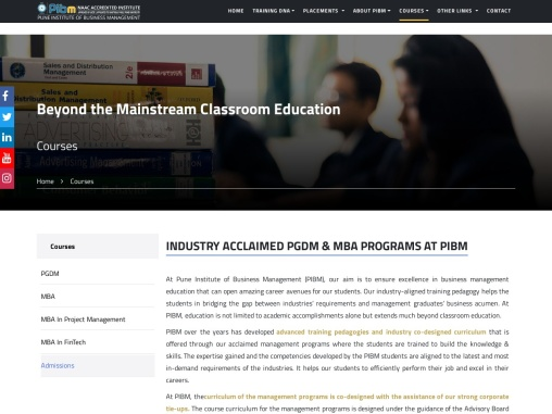 Top MBA College in Pune | Best PGDM College in Pune