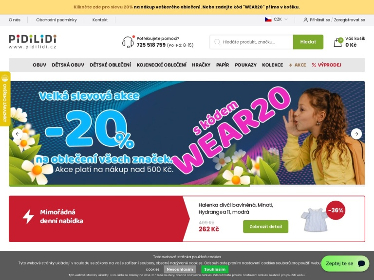 pidilidi.cz screenshot