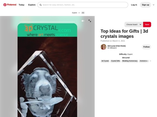 Top Ideas for Gifts | 3d crystals images