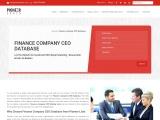 Finance Company CEO Email Lists
