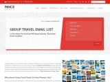 Group Travel Email Lists From Pioneerlists
