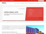 Hotel Owners Email List From Pioneerlists