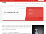 Email ID's of Angel Investors From Pioneerlists