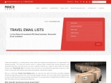 Travel Agents Email Address List From Pioneerlists