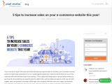 5 tips to increase sales on your e-commerce website this year!