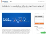 It's 2021… And why your business still needs a Digital Marketing Agency? You are here: