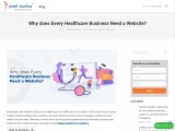 Why does Every Healthcare Business Need a Website?