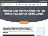 ASTM A213 Zeron 100 Super Duplex Steel Tubes Manufacturer