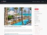 5 Best Places For Pool Party in Dubai