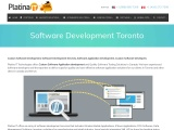 Custom Software Development Services | Platina IT