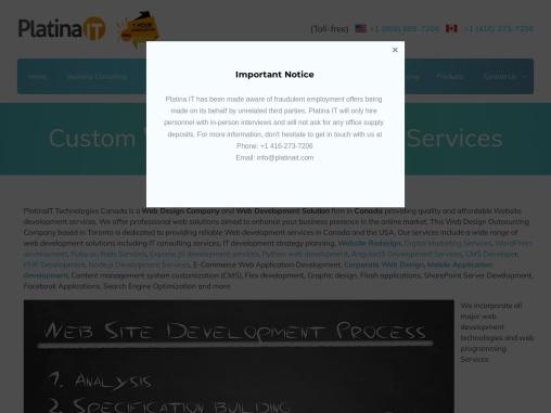 Best Web Development Services in Toronto