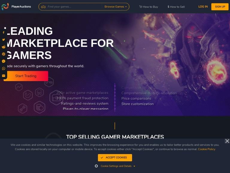 Player Auctions screenshot