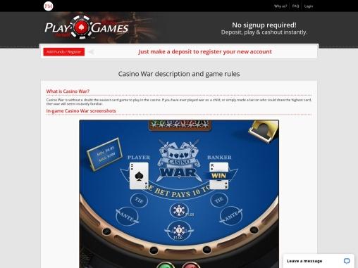 perfect money | real-money casino games