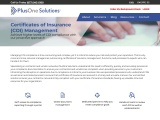Certificates of Insurance (COI) Management