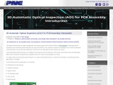 3D Automatic Optical Inspection (AOI) For PCB Assembly Introduction