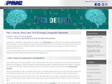 PNC's Step By Step Guide To PCB Design Component Placement